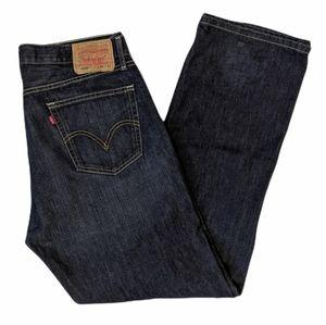 Levi's men's 505 straight fit jeans 36x32